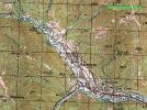 Топографічна карта села Коростів