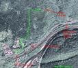 Супутникове фото місцевості на півночі міста Сколе