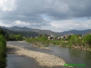 Річка Опір в селі Тухля