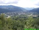 Панорама міста Сколе з півночі