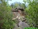 Скелі на півночі від міста Сколе