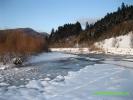 Річка Опір взимку 2013 року