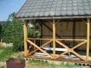Фото альтанки та мангалу. Відпочинок біля Опору.