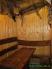 Стіл в сауні з басейном - СПА відпочинок у Карпатах.